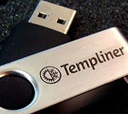 Pendrive Swivel Templiner