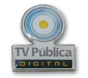 Pin con Dome I TV Pública